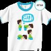 AF165 Kaos Anak Let's Shalat 3