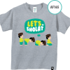 AF166 Kaos Anak Don't Forget Do'a Before You Eat 3