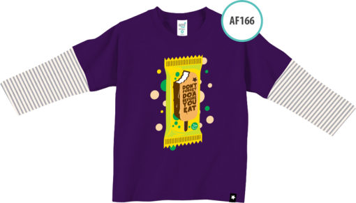 AF166 Kaos Anak Don't Forget Do'a Before You Eat 1