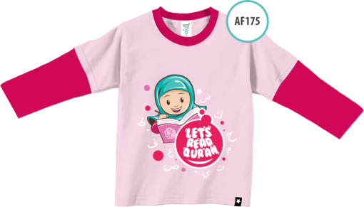 AF175 Kaos Anak Let's Read Quran 1