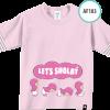 AF184 Kaos Anak Let's Shalat 3
