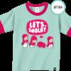 AF183 Kaos Anak Let's Shalat 2