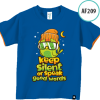 AF210 Kaos Anak Keep silent or speak good works 3