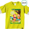 AF218 Kaos Anak Do'a Before You Eat 2
