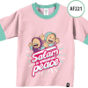 AF221 Kaos Anak Salam Is Spreading Peace - S