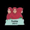 JA013 Jilbab Anak Fushia - S