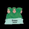 JA024 Jilbab Anak Green - M