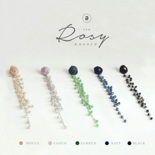 New Rosy Brooch 1