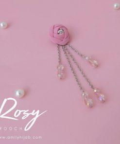 Rosy Brooch 7