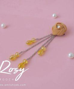Rosy Brooch 8