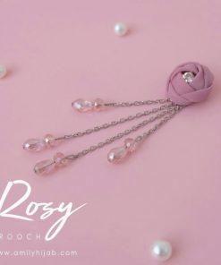 Rosy Brooch 9
