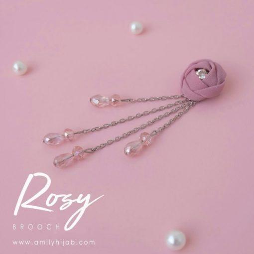 Rosy Brooch 4
