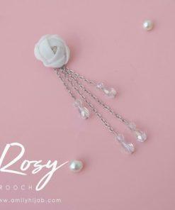 Rosy Brooch 10