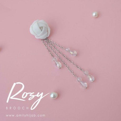 Rosy Brooch 5