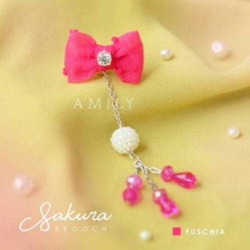 Sakura Brooch 2