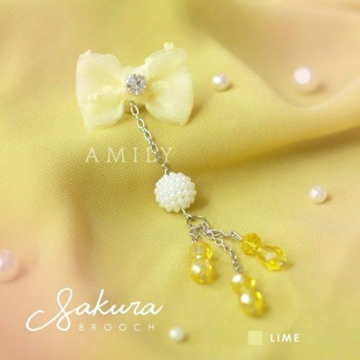 Sakura Brooch 4
