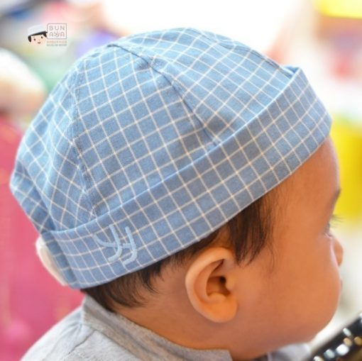 Peci Topi Anak Kotak2 1