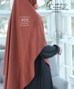 Queeny Khimar Crystal 23