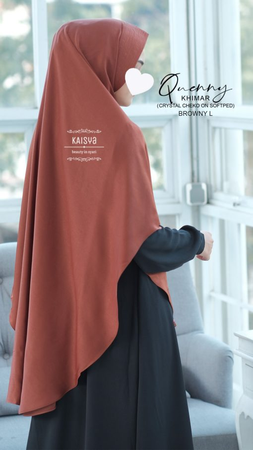 Queeny Khimar Crystal 4