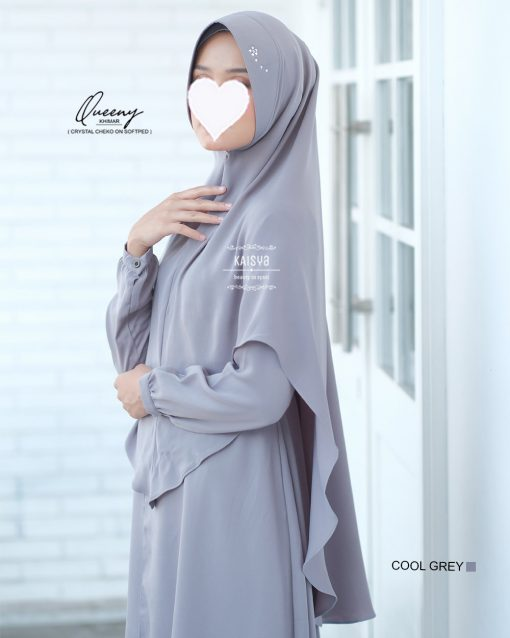 Queeny Khimar Crystal 5
