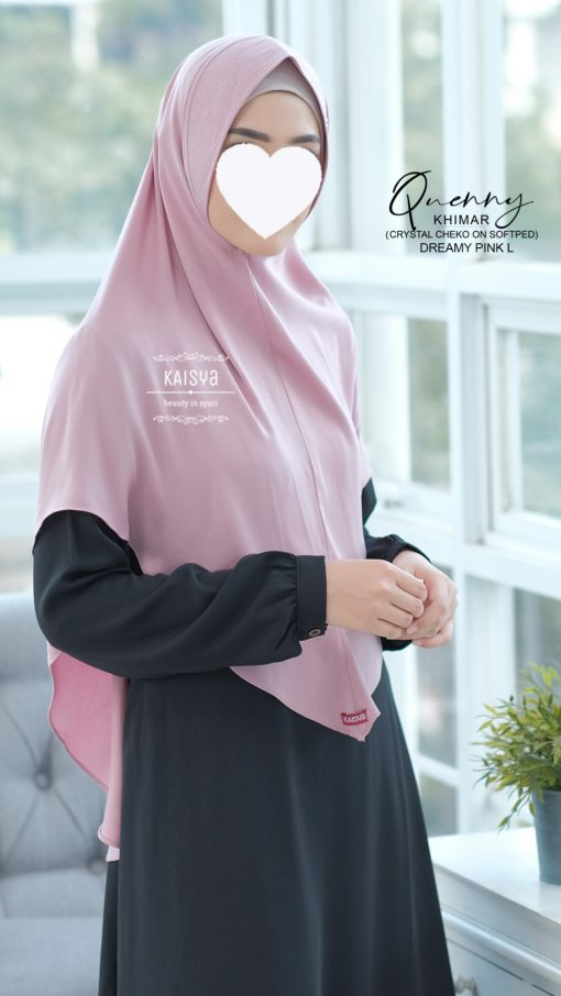 Queeny Khimar Crystal 8