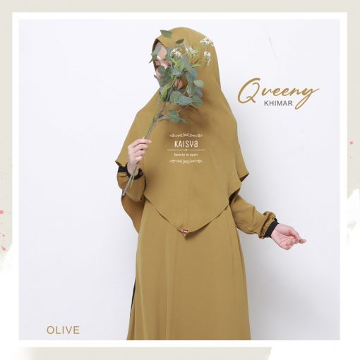Queeny Khimar Crystal 12