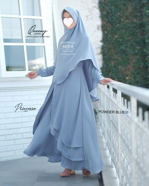 Queeny Khimar Crystal 13