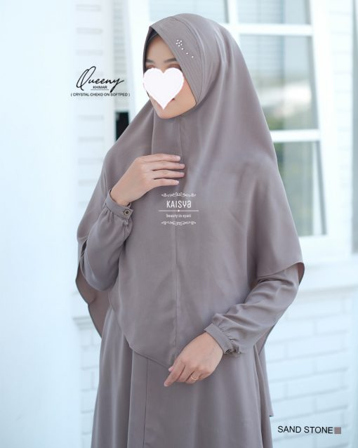 Queeny Khimar Crystal 14