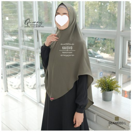 Queeny Khimar Crystal 15