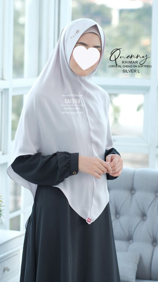 Queeny Khimar Crystal 17